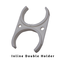 Inline Cartridge  (approx. 4.8+5.9cm) Double Holder